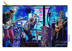 Coldplay Collection Chris Martin Carry-all Pouch by Marvin Blaine