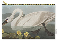 Common American Swan Carry-all Pouch by John James Audubon