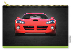 Dodge Viper Carry-all Pouch by Mark Rogan