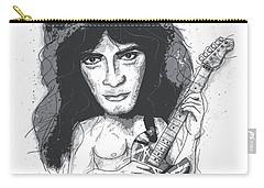 Eddie Van Halen Carry-all Pouch by Gary Bodnar