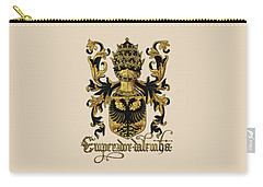 Emperor Of Germany Coat Of Arms - Livro Do Armeiro-mor Carry-all Pouch by Serge Averbukh