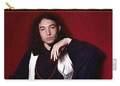 Ezra Miller Poster Carry-all Pouch by Best Actors