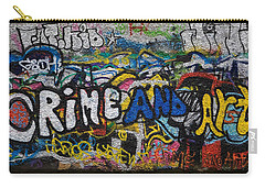 Grafitti On The U2 Wall, Windmill Lane Carry-all Pouch by Panoramic Images