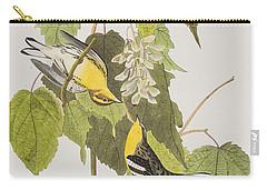 Hemlock Warbler Carry-all Pouch by John James Audubon