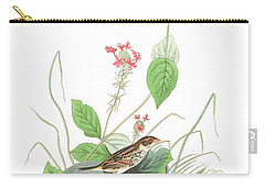 Henslow's Bunting  Carry-all Pouch by John James Audubon
