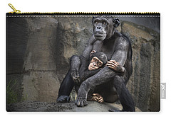Hugs Carry-all Pouch by Jamie Pham