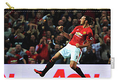 Manchester United's Zlatan Ibrahimovic Celebrates Carry-all Pouch by Don Kuing