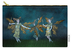 Mischief  Carry-all Pouch by Betsy Knapp