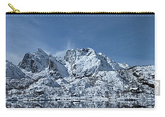 Mountain Reflection Carry-all Pouch by Frank Olsen