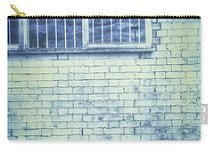 Old Window Bars Carry-all Pouch by Tom Gowanlock