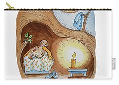 Peter Rabbit And His Dream Carry-all Pouch by Irina Sztukowski