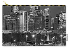 Philly Skyline Full Moon Carry-all Pouch by Susan Candelario