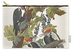 Pileated Woodpecker Carry-all Pouch by John James Audubon