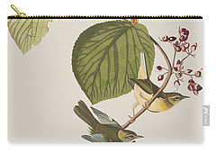 Pine Swamp Warbler Carry-all Pouch by John James Audubon