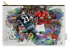 Pogba Street Art Carry-all Pouch by Don Kuing