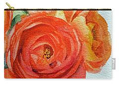 Ranunculus Carry-all Pouch by Irina Sztukowski