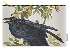 Raven Carry-all Pouch by John James Audubon