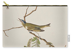 Red Eyed Vireo Carry-all Pouch by John James Audubon