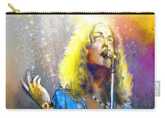 Robert Plant 02 Carry-all Pouch by Miki De Goodaboom