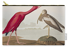 Scarlet Ibis Carry-all Pouch by John James Audubon