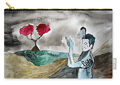 Scott Weiland - Stone Temple Pilots - Music Inspiration Series Carry-all Pouch by Carol Crisafi