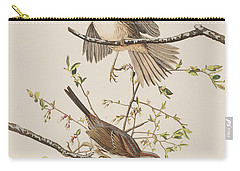 Song Sparrow Carry-all Pouch by John James Audubon
