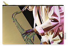 Sonny Rollins Collection Carry-all Pouch by Marvin Blaine