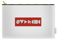 Supreme Being Embroidered Abstract - 1 Of 5 Carry-all Pouch by Serge Averbukh