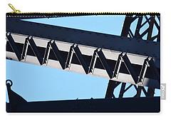 Sydney Harbour Bridge Detail No. 2 Carry-all Pouch by Sandy Taylor