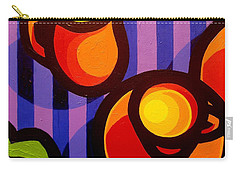 Tea And Apples Carry-all Pouch by John  Nolan