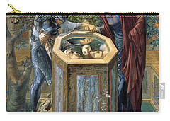 The Baleful Head Carry-all Pouch by Edward Burne-Jones
