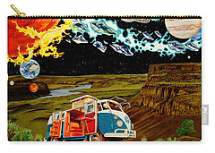 The Gorge One Sweet World Carry-all Pouch by Joshua Morton