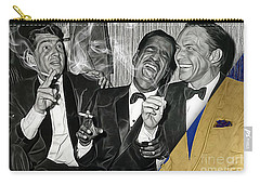 The Rat Pack Collection Carry-all Pouch by Marvin Blaine
