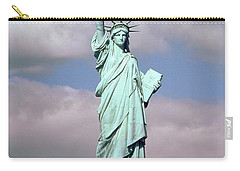 The Statue Of Liberty Carry-all Pouch by American School
