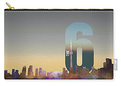 Toronto Skyline - The Six Carry-all Pouch by Serge Averbukh