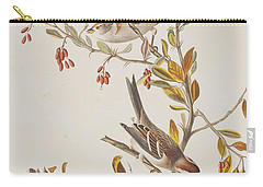 Tree Sparrow Carry-all Pouch by John James Audubon