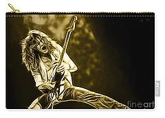 Van Halen Eddie Van Halen Collection Carry-all Pouch by Marvin Blaine