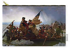 Washington Crossing The Delaware Carry-all Pouch by Emanuel Leutze