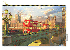 Westminster Bridge Carry-all Pouch by Dominic Davison