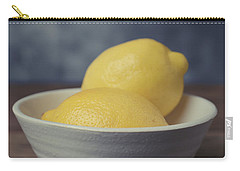 When Life Gives You Lemons Carry-all Pouch by Edward Fielding