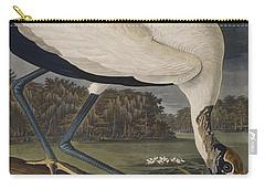 Wood Ibis Carry-all Pouch by John James Audubon