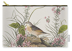 Yellow-winged Sparrow Carry-all Pouch by John James Audubon