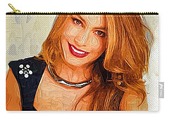 Actress Sofia Vergara  Carry-all Pouch by Best Actors