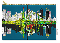 Tokyo Skyline Carry-all Pouch by John Groves