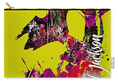 Michael Jackson Collection Carry-all Pouch by Marvin Blaine