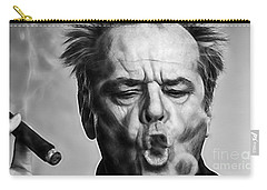 Jack Nicholson Collection Carry-all Pouch by Marvin Blaine