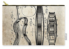 1899 Violin Patent Illustration Carry-all Pouch by Dan Sproul