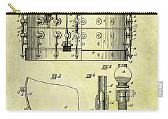 1900 Band Drum Patent Carry-all Pouch by Dan Sproul