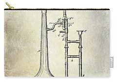 1902 Trombone Patent Carry-all Pouch by Jon Neidert