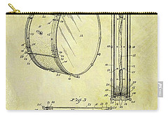 1908 Drum Patent Carry-all Pouch by Dan Sproul